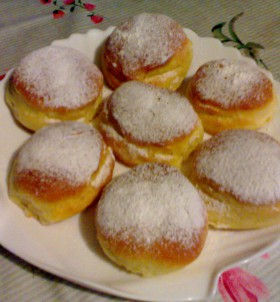 bomboloni all'albicocca